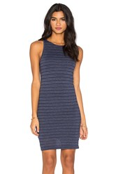 Nation Ltd. Brandy Tank Dress Navy
