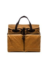 Filson 72 Hr Tin Cloth Briefcase Tan