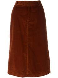 A.P.C. 'Constance' Jupe Skirt Red