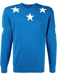 Guild Prime Star Embroidered Sweater Blue