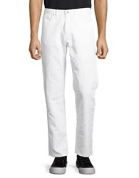 Calvin Klein Solid Straight Fit Pants