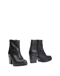 Swear London Ankle Boots Black