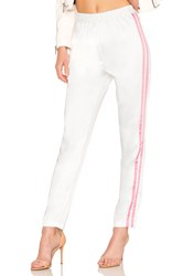 Lovers Friends Tailored Track Trouser White