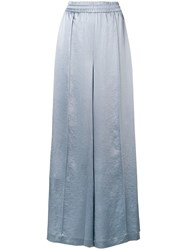 Alexander Wang Palazzo Trousers Blue