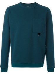 Oamc Chest Pocket Sweatshirt Green