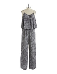 Candc California Popover Jumpsuit Faded Black