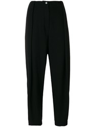 Nehera Poppy Trousers Women Cotton Polyamide Cupro Alpaca 36 Black