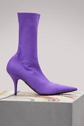 Balenciaga Knife Pumps Purple