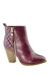 Anna Gina High Heel Bootie Red
