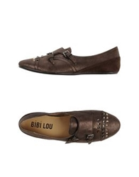 Bibi Lou Moccasins Dark Brown