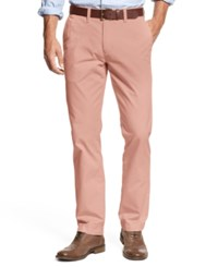Tommy Hilfiger Men's Custom Fit Chino Pants Dusty Pink Pt