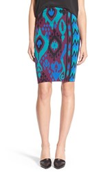 Women's Plenty By Tracy Reese Pattern Pencil Skirt