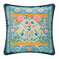 Pip Studio Indian Festival Cushion 40X40cm Blue