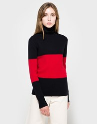 Wood Wood Joyce Turtleneck Dark Navy