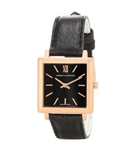 Larsson And Jennings Norse 27X34mm Square Watch Black