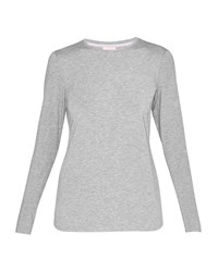 Ted Baker Rojo Fitted Long Sleeved Top Light Grey