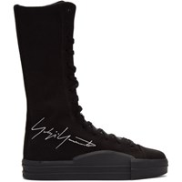 Y 3 Black Yuben Boot Sneakers