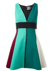 Fausto Puglisi V Neck Dress Green