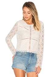 Lovers Friends Lotus Top White