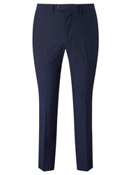 John Lewis Kin By Miller Pindot Tailored Suit Trousers Bright Blue