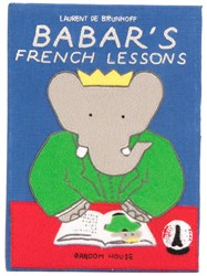 Olympia Le Tan Babar's French Lessons Book Clutch Blue