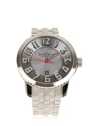 Tendence Swiss Made Steel Black Silver