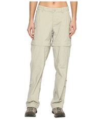 The North Face Paramount 2.0 Convertible Pants Granite Bluff Tan Women's Casual Pants White