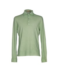 Capobianco Polo Shirts Light Green