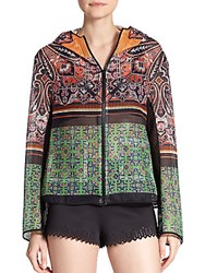 Clover Canyon Paisley Mesh Jacket Multicolor