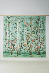 Anthropologie Havenview Mural Blue Green