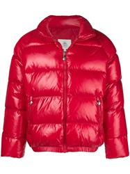 Pyrenex Zipped Padded Jacket Red