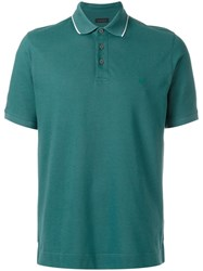 Z Zegna Polo Shirt Green