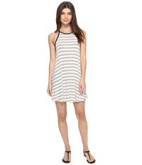 Volcom Lived In Tank Dress Black Combo Women's Dress