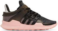 Adidas Originals Black And Pink Equipment Support Adv Sneakers
