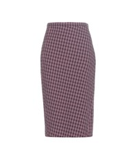 Altuzarra Vic Plaid Skirt Blue