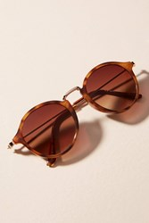 Anthropologie Kyleen Tortoise Sunglasses Brown Motif