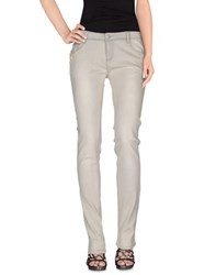Roccobarocco Denim Denim Trousers Women Light Grey