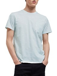 Jaeger Water Tile Print T Shirt Mint