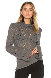 Free People Shoot From The Heart Top Gray