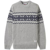 Penfield Hickman Crew Knit Grey
