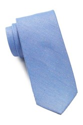 Ben Sherman Solid Donegal Tie Blue