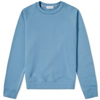 John Elliott Raglan Crew Sweat Blue