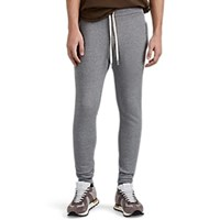 John Elliott Rio Cotton Blend Jogger Pants Gray