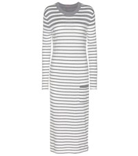 81 Hours Cotton And Cashmere Dress Grey