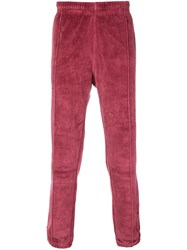 Champion Velour Track Pants Pink And Purple