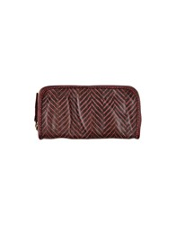 Caterina Lucchi Wallets Maroon