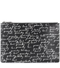 Givenchy Printed Pouch Black