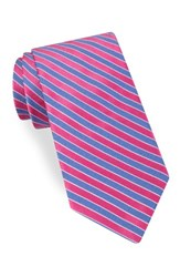 Ted Baker Men's London Mogador Stripe Silk And Cotton Tie