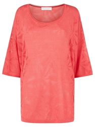 Windsmoor Pointelle Jumper Pink Coral