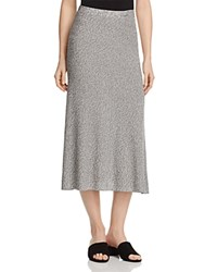 Eileen Fisher Flare Midi Skirt 100 Bloomingdale's Exclusive Silver